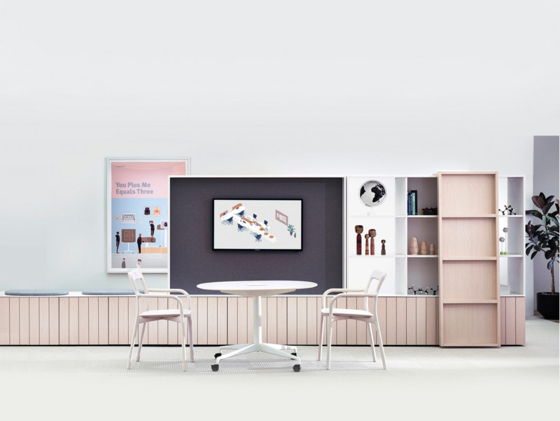Büromöbel Design Herman Miller Büromöbel Set
