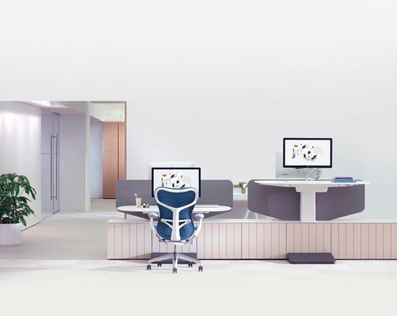 Büromöbel Design Herman Miller Doppelter Schreibtisch