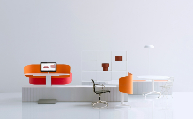 Büromöbel Design Industrial Facility Schreibtisch Bürostühle