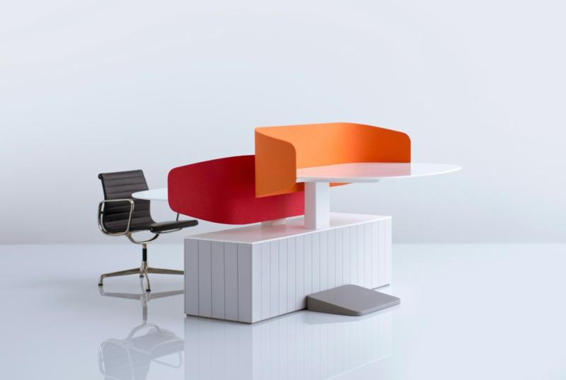 Büromöbel Design Industrial Facility Schreibtisch Stehtisch