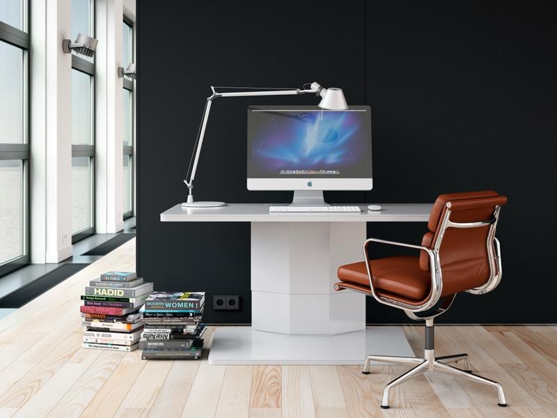 Büromöbel Design Kembo Alpha Schreibtisch Tischlampe Arbeitsplatz
