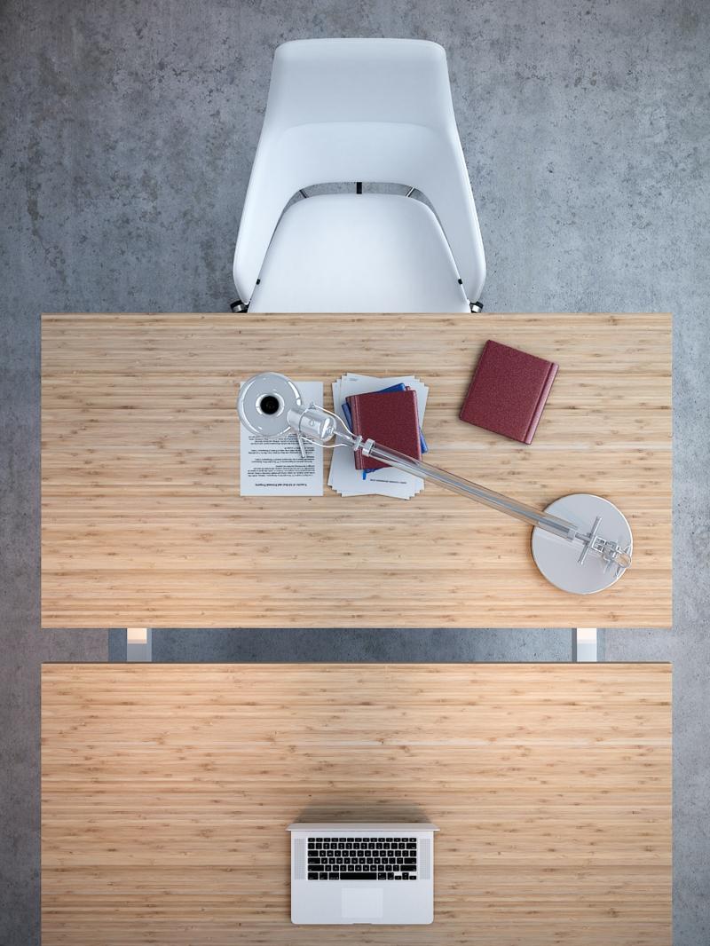 Büromöbel Design Kembo Double Schreibtisch arbeiten zu zweit