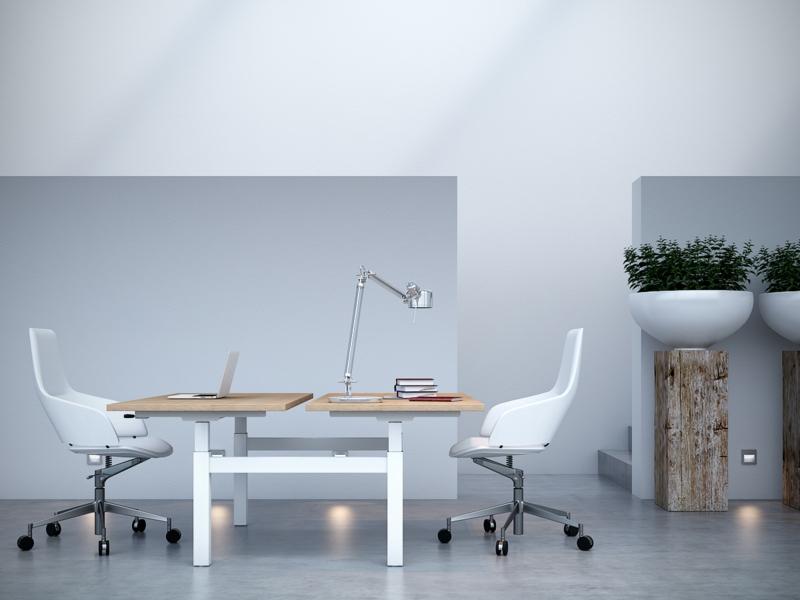 Büromöbel Design Kembo Double Schreibtisch