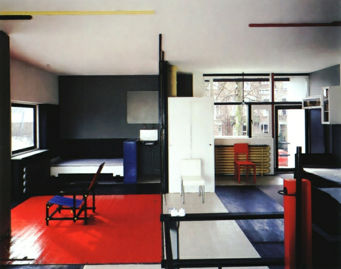 Bauhausstil Design Optimiertes Zimmer Einrichtung