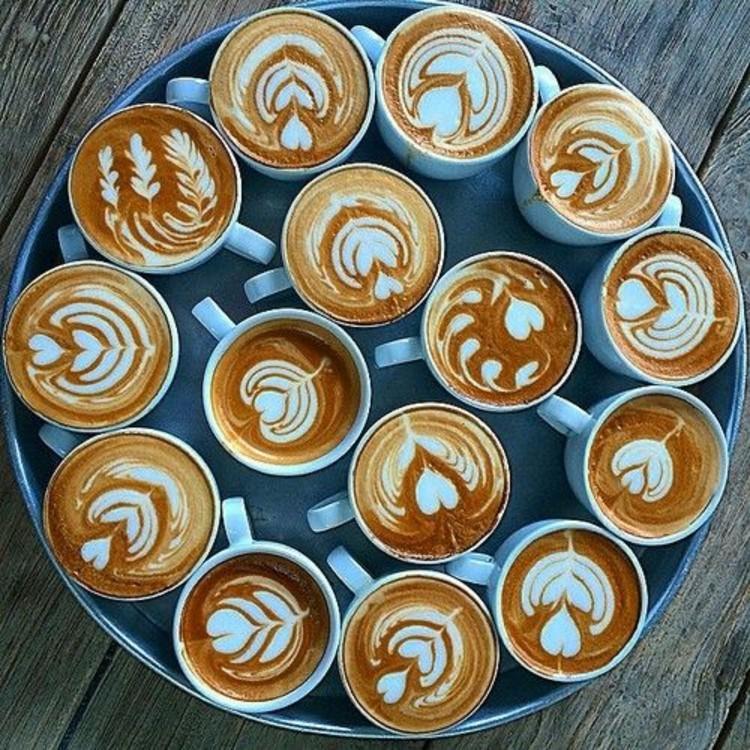 Cappuccino Kaffeesorten Kaffeegetränke Kaffee Wirkung