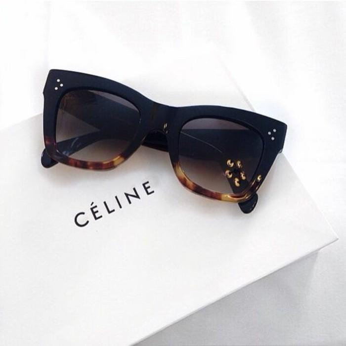 Celine Sonnenbrillen schwarz Damen Modetrends Accessoires