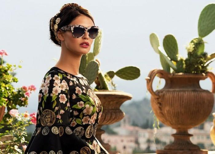 Dalce und Gabanna Sonnenbrillen Damen Modetrends Accessoires Sommermode
