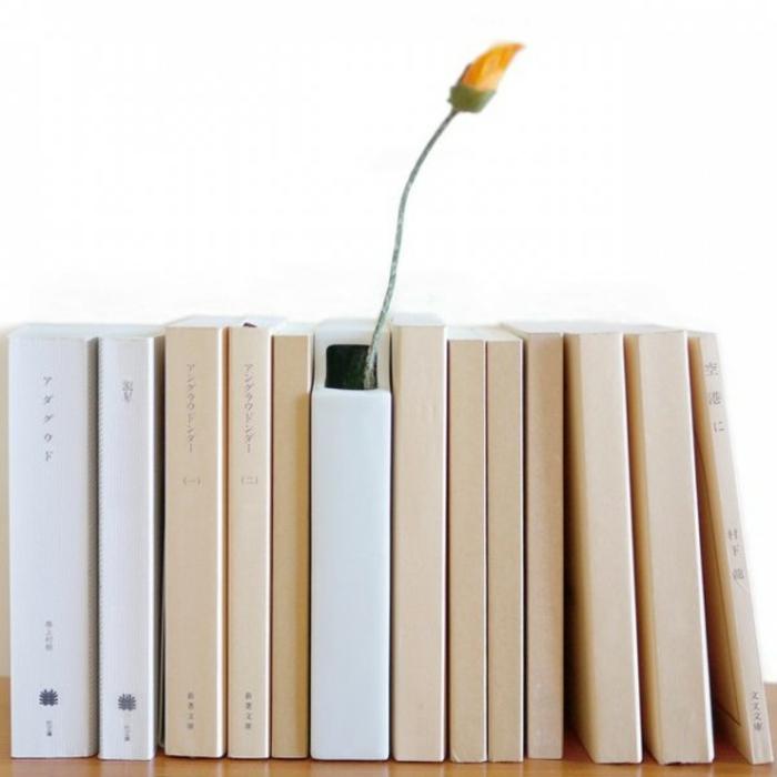 Deko Vasen kreative Dekoartikel Buch Bücherregal