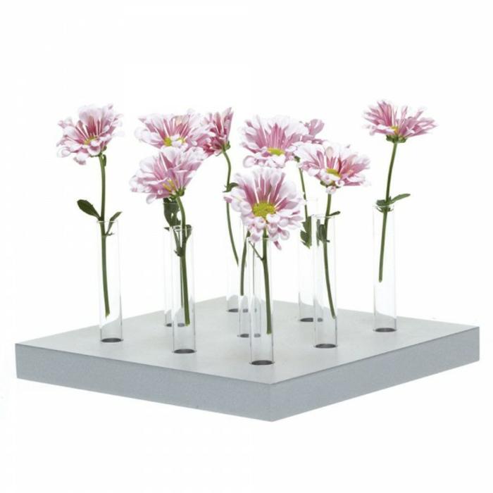 Deko Vasen kreative Dekoartikel Gerber Vasen Proberöhrchen