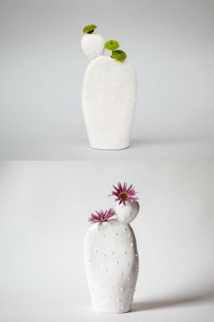 Deko Vasen kreative Dekoartikel Keramikvase Kaktus