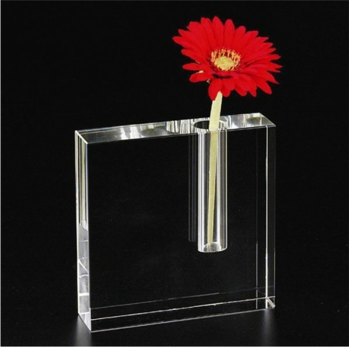 Deko Vasen kreative Dekoartikel Glasvase durchsichtig