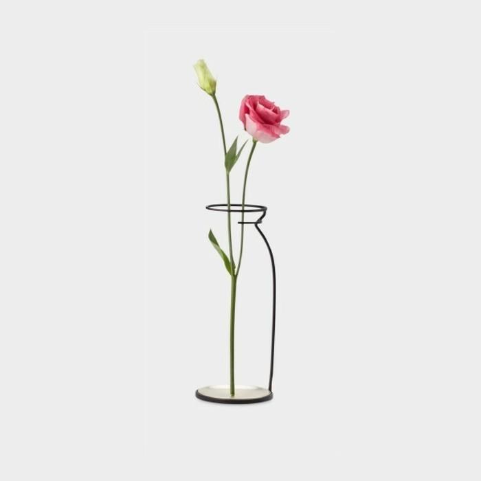 Deko Blumenvase kreative Dekoartikel Konturen Glasvase Rosen