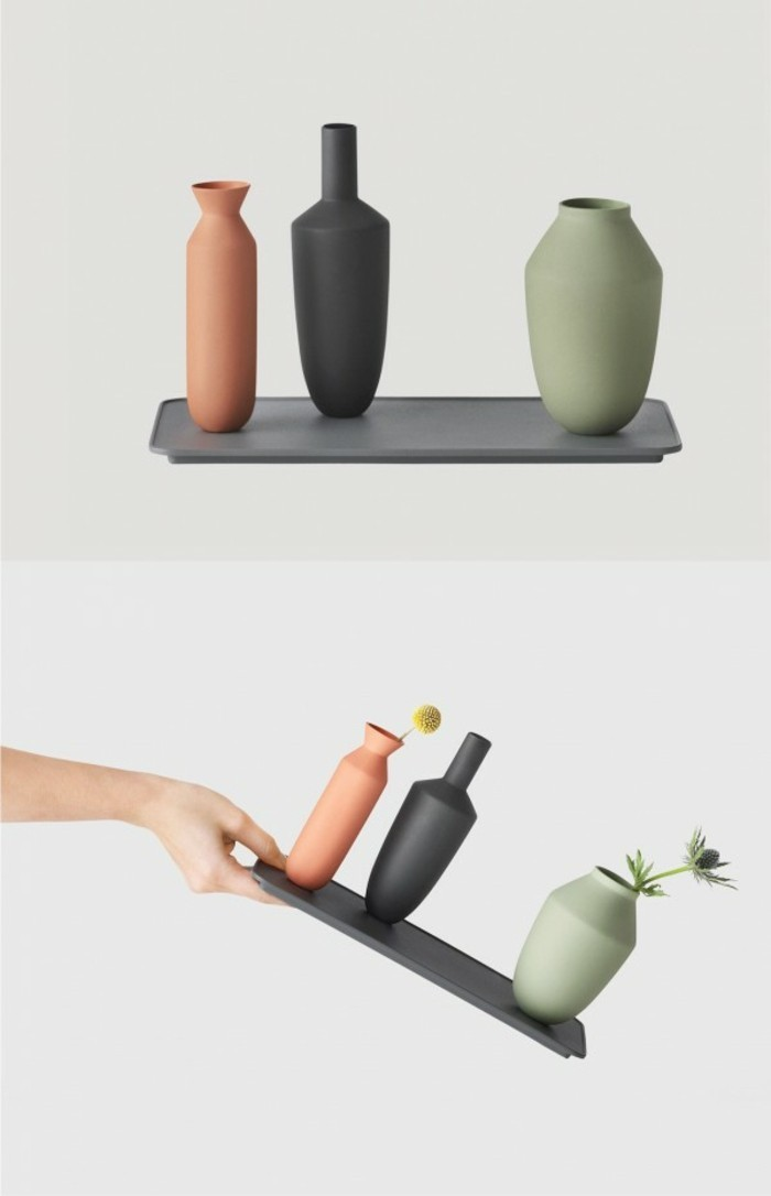 Deko Vasen kreative Dekoartikel Vasen mit Magnet
