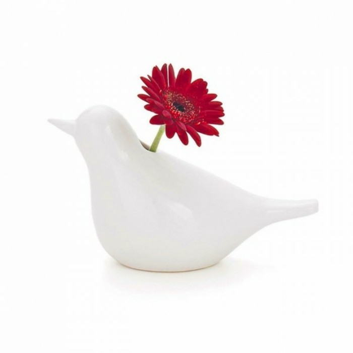 Deko Vasen kreativ Dekoartikel Vogel