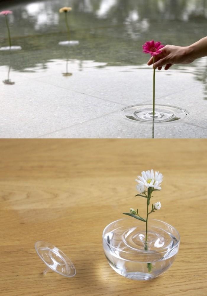 Deko Vasen kreative Dekoartikel außergewöhnliche Glasvasen durchsichtig