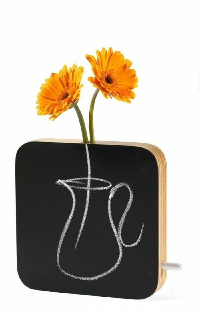 Deko Vasen kreative Dekoartikel schwarze Tafel
