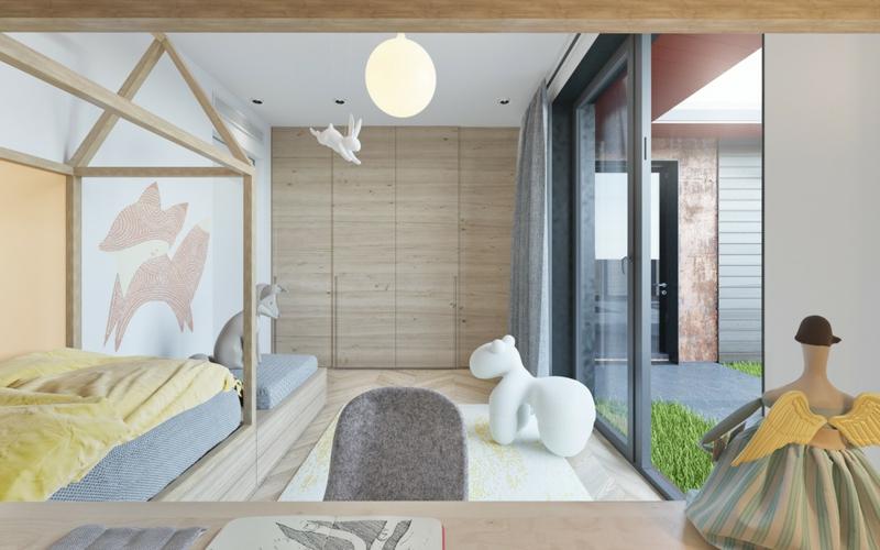 Designer Kinderzimmer Ideen Dekoration