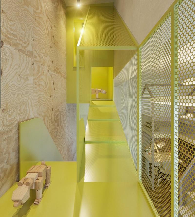 Designer Möbel Kinderzimmer Ideen Neon Farbe