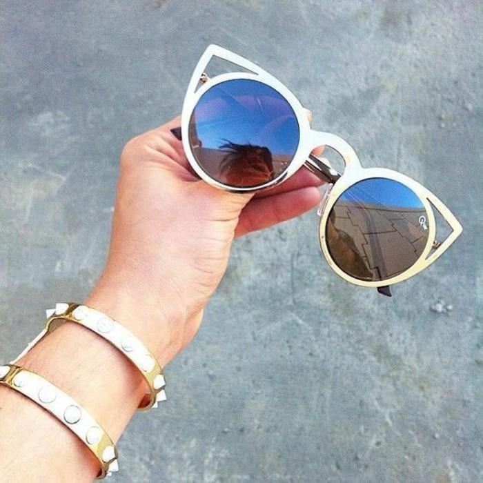 Designer Sonnenbrillen Damen Katzenaugen Modetrends Accessoires