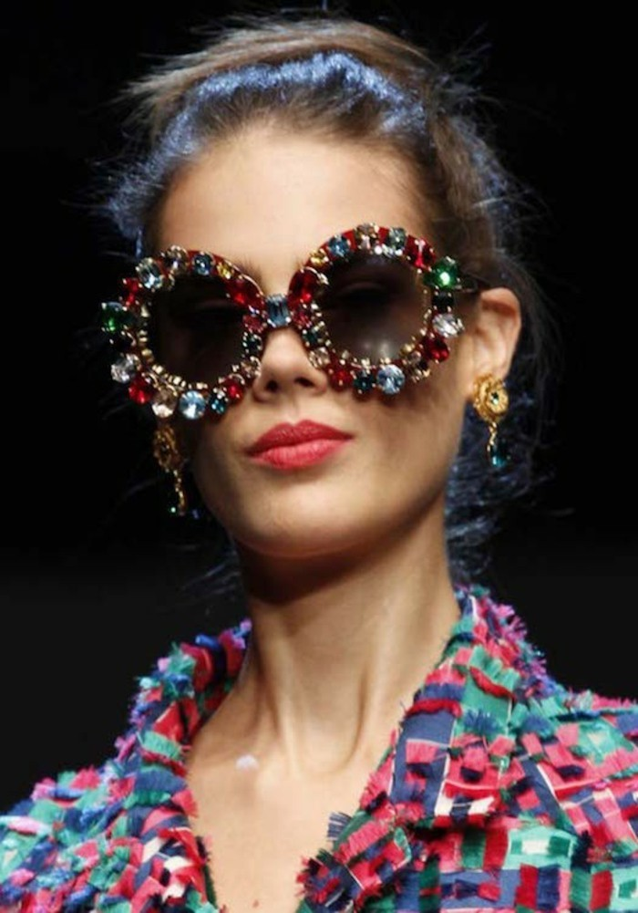 Designer Sonnenbrillen Damen Modetrends Accessoires Ohrringe Sommermode