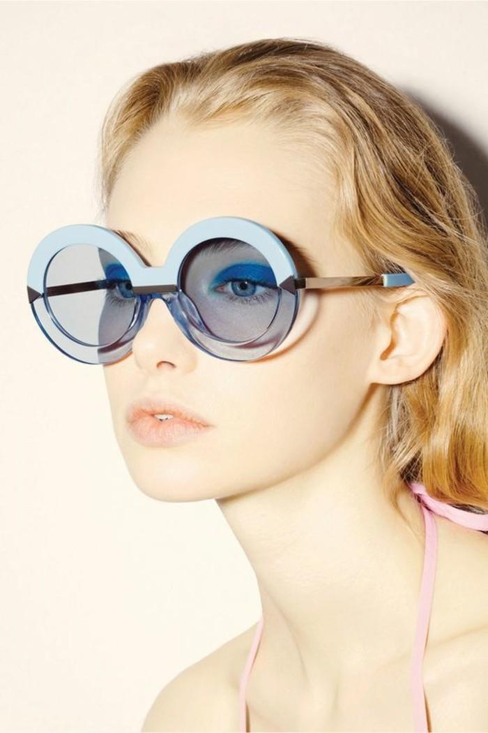 Designer Sonnenbrillen Damen Modetrends Accessoires Sonnenbrille blau