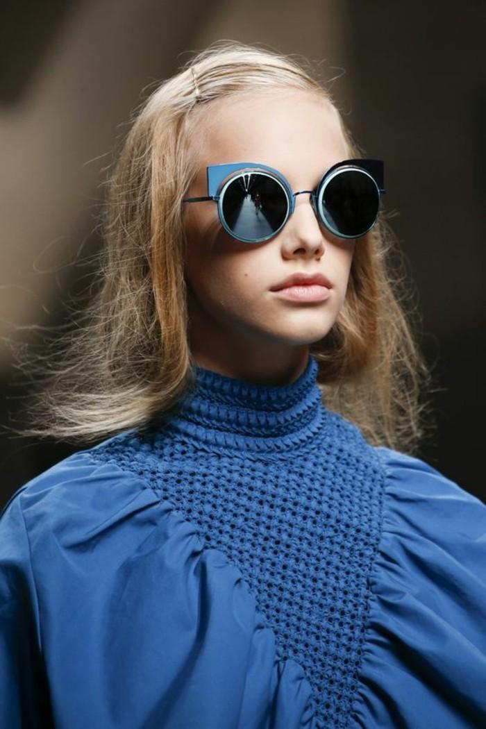 Designer Sonnenbrillen Damen Modetrends Accessoires Sonnenbrille rund