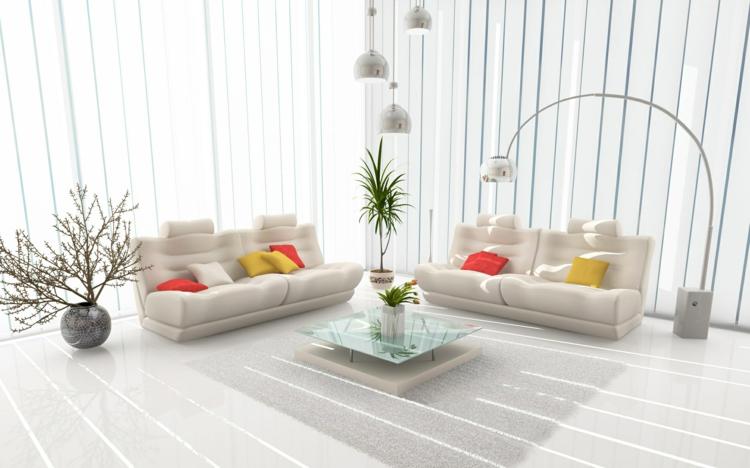 Feng Shui Bilder Zimmergestaltung positive Energie