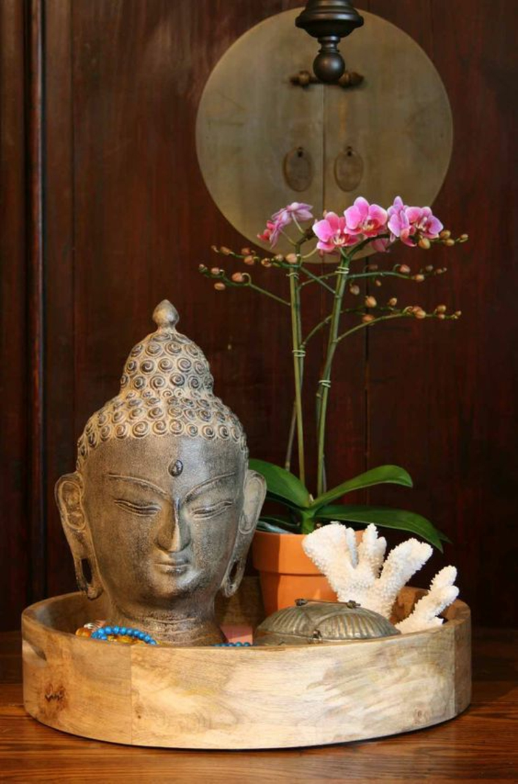 Feng Shui Bilder Zimmerpflanzen und Glücksbringer positive Energie