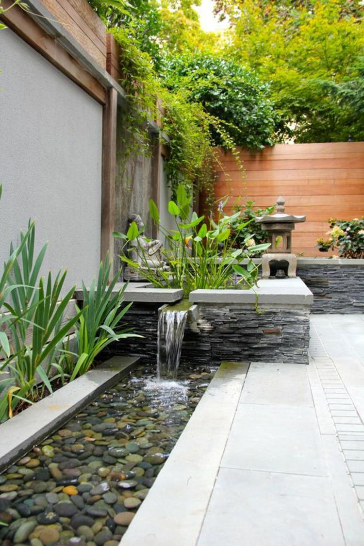 Feng Shui Garten Bilder Gartenpflanzen positive Energie