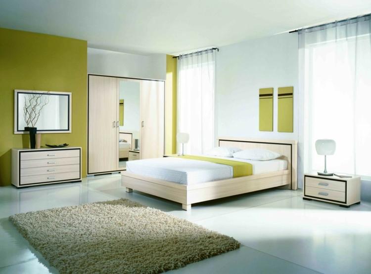 Feng Shui Schlafzimmer Wandfarbe Grün