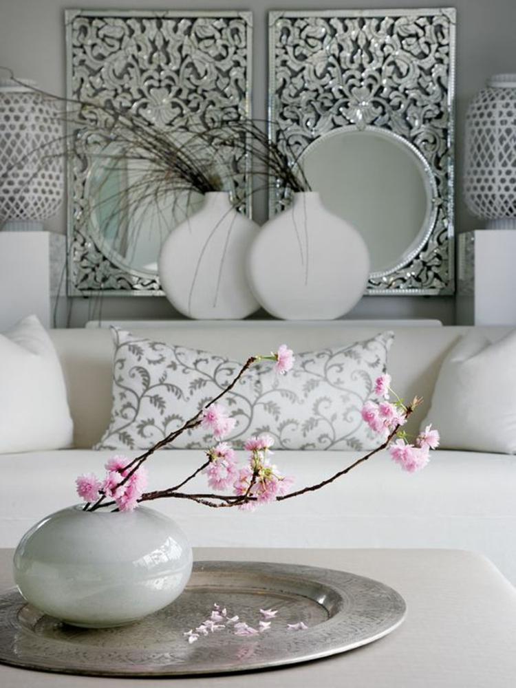 Feng Shui Zimmereinrichtung Ideen Glücksbringer positive Energie