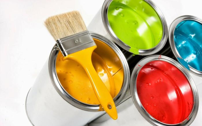 Feng Shui farben einrichtungsbeispiele naturelemente fünf farben