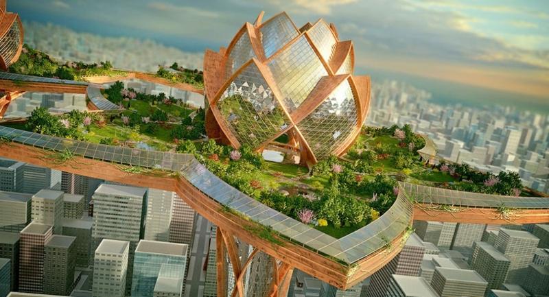 Futuristische architektur wie stellen wir uns die zukunft vor - Futuristische architektur ...