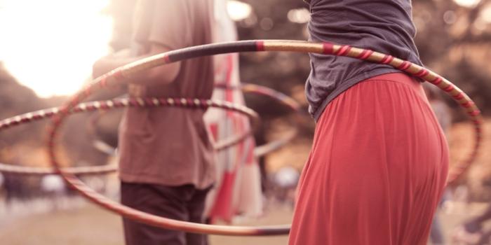 Hula Hoop abnehmen Tipps Ideen Sportarten gesund abnehmen