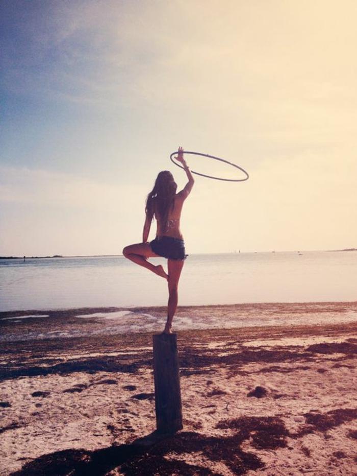 Mit Hula Hoop Abnehmen Tipps Und Basic Ubungen