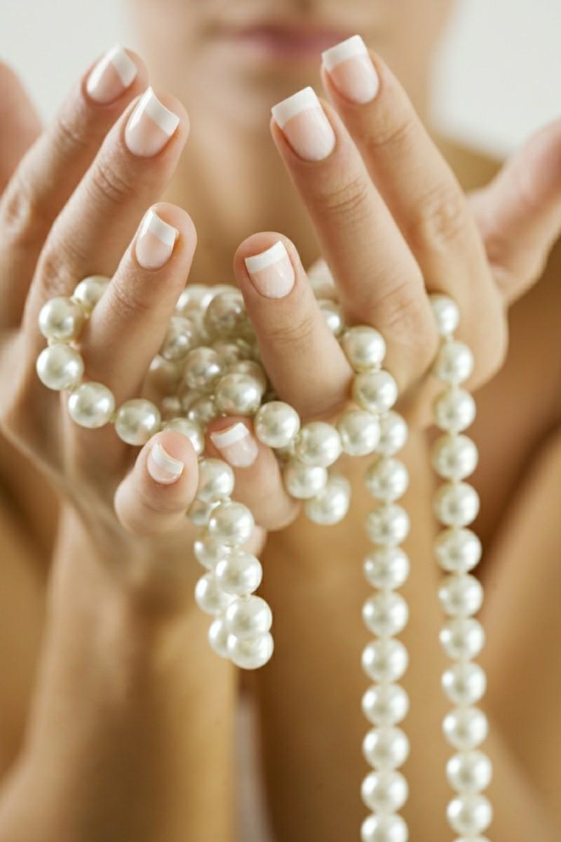 Jungfrau Sternzeichen Edelsteine Perlen Halskette