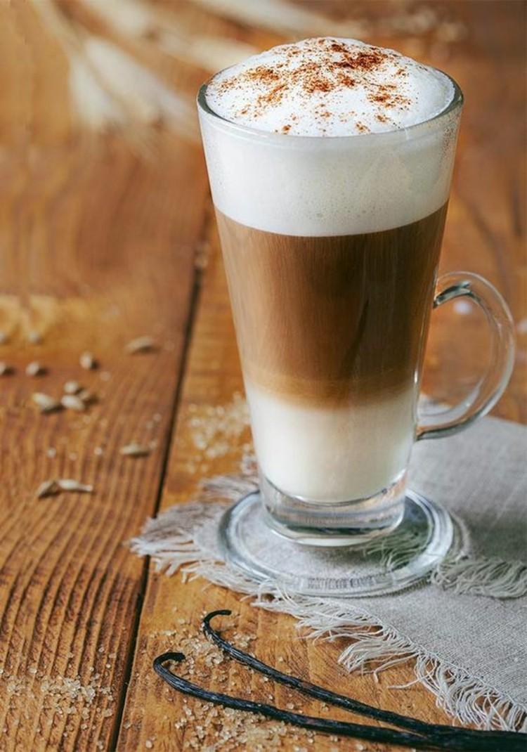 Kaffeesorten Latte Macchiato Kaffeegetränke Kaffee Wirkung