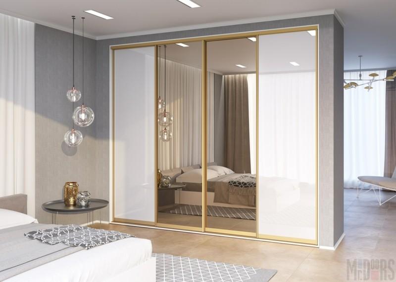 Kleiderschränke mit Schiebetüren Spiegeltüren