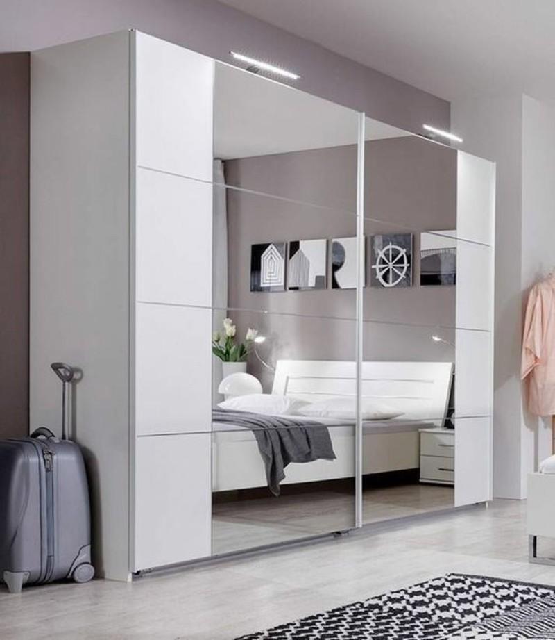 Kleiderschrank mit Schiebetüren Spiegel Kleiderschränke