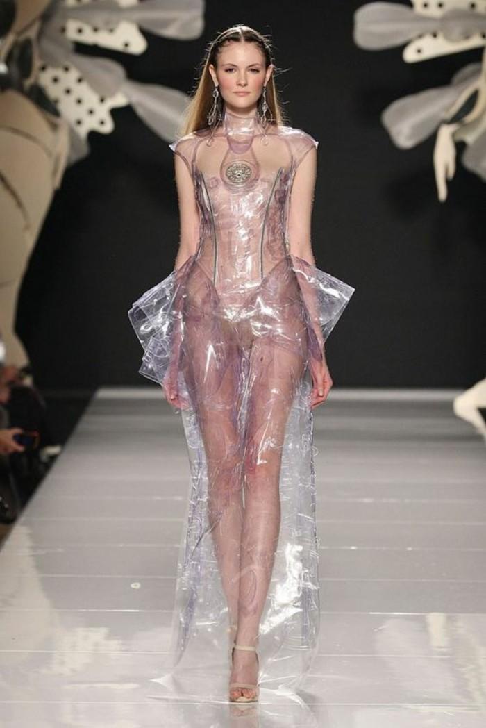 Modetrends durchsichtige Kleider Haute Couture Mode