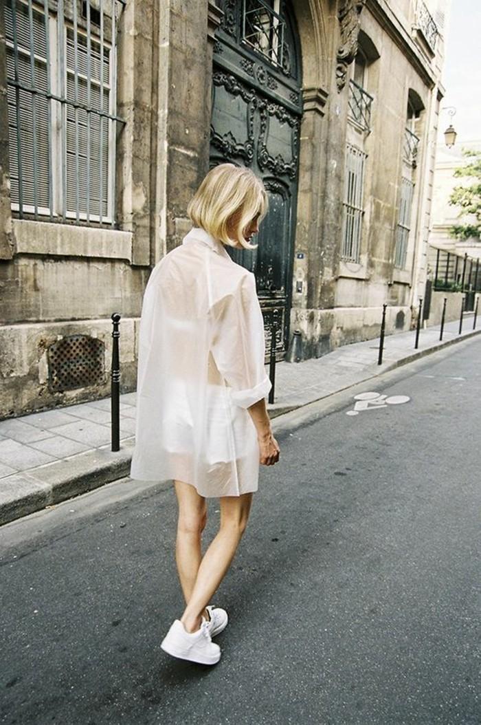 Modetrends transparente Kleider Mantel