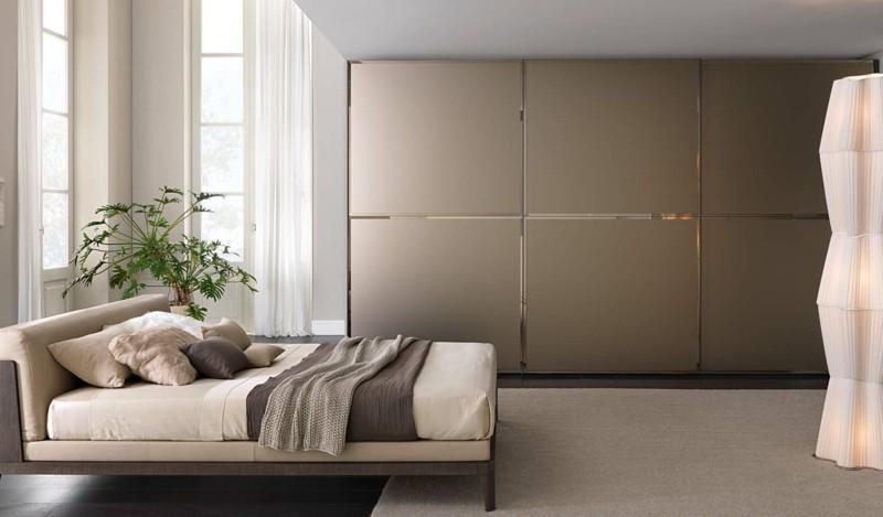 Schlafzimmer Ideen Kleiderschränke mit Schiebetüren