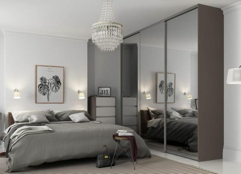 Schlafzimmer Möbel Kleiderschränke mit Schiebetüren