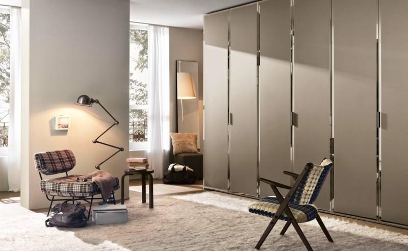 Schlafzimmer Möbel großer Kleiderschrank mit Schiebetüren