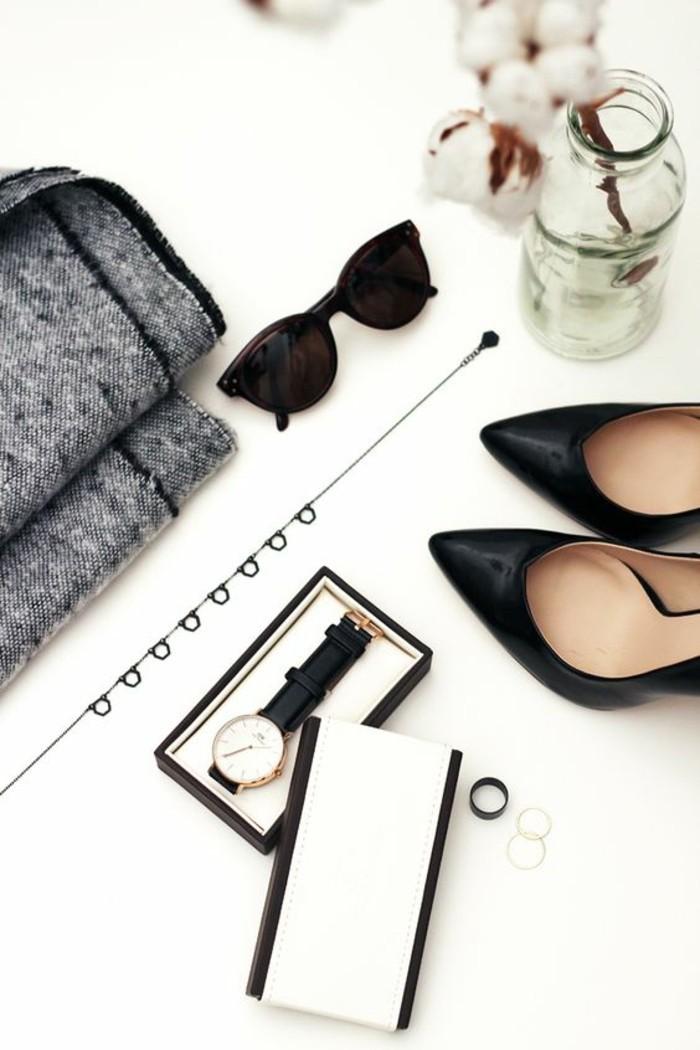 Sonnenbrille Armbanduhr Pumps Damen Modeaccessoires