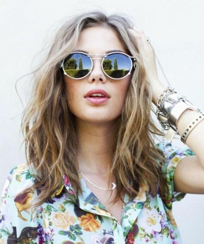 Sonnenbrille reflektierend Damenmode Accessoires