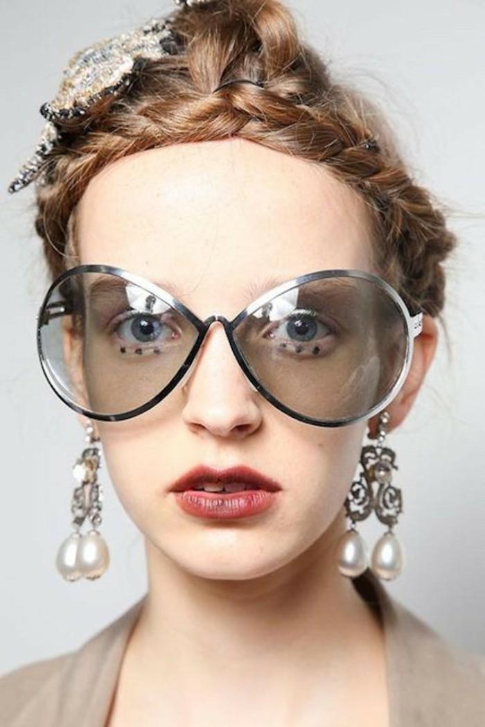 Sonnenbrillen Damen Modetrends Accessoires Ohrringe Sommermode