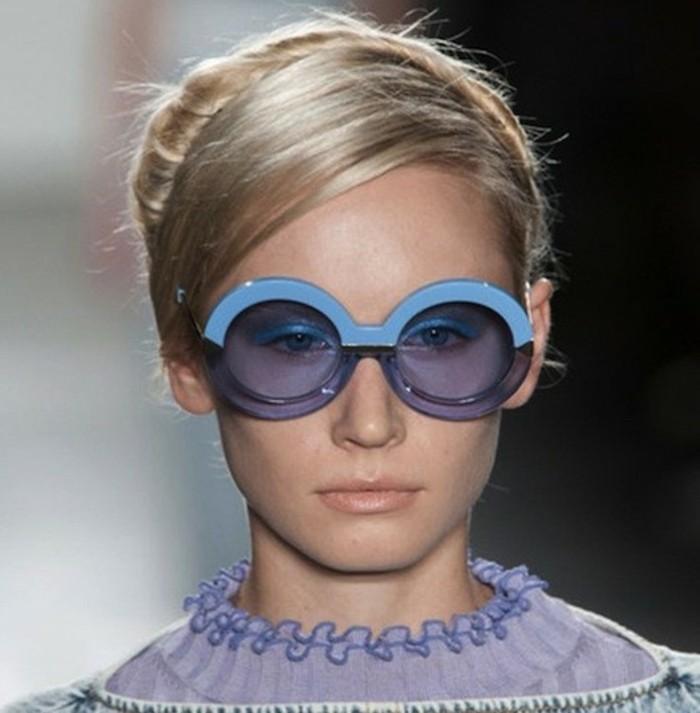 Sonnenbrillen Damen Modetrends Accessoires Sonnebrille rund