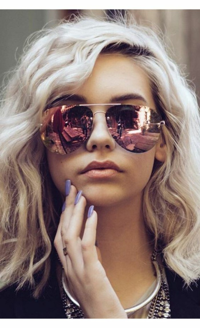 Sonnenbrillen reflektierend Damen Modetrends Accessoires