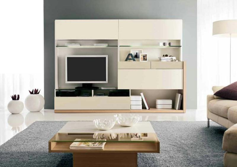 TV Wände Wohnzimmermöbel Couchtisch Holzmöbel TV Wohnwand